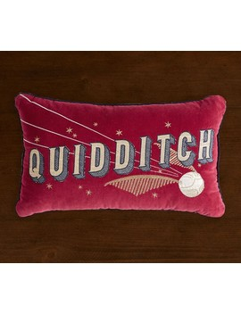 Harry Potter™ Quidditch™ Pillow by Pottery Barn Kids