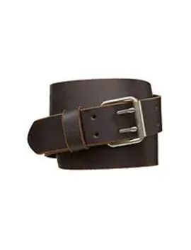 Leather Double Prong Belt by Gap