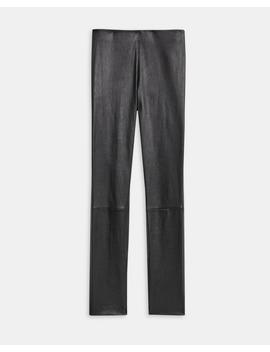 Leather Skinny Legging by Theory