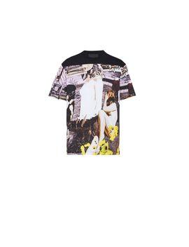 T Shirt Aus Baumwolljersey by Prada
