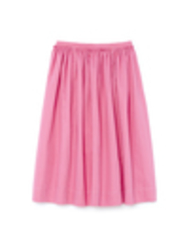Cotton Linen Drill Skirt by Marni