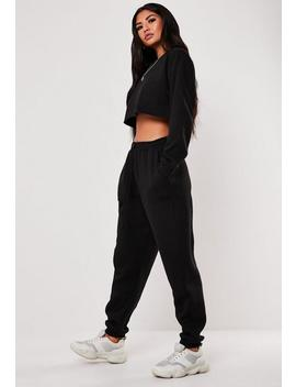 Jogging Noir Style 90's Petite by Missguided
