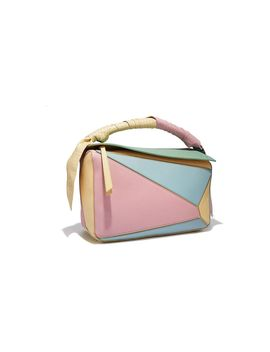 Women's Multicolor Puzzle Wrap Bag by Loewe