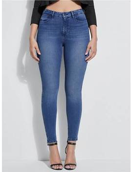 Guess Eco 1981 High Rise Skinny Jeans by Guess