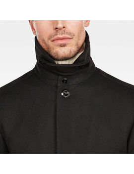 Garber Wool Overcoat by G Star
