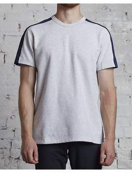 Reigning Champ Short Sleeve Lightweight Terry Pima Crew Ash by Less 17