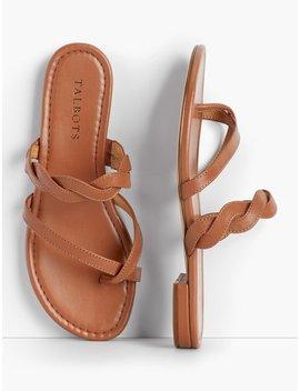 Gia Twist Sandals   Solid by Talbots