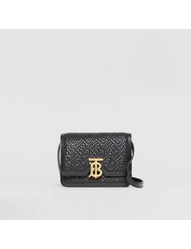 Mini Quilted Monogram Lambskin Tb Bag by Burberry
