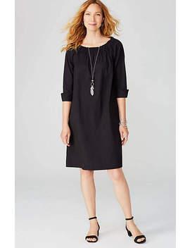 Cuffed Sleeve Dress by J.Jill