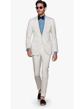 Lazio Off White Tuxedo by Suitsupply