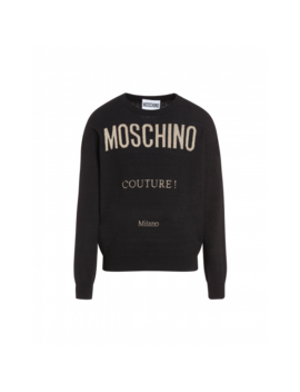 Moschino Couture Wool And Cashmere Pullover by Moschino