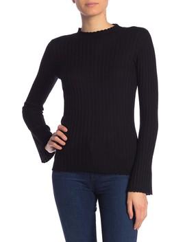 Gestina Scallop Trim Sweater by Joie