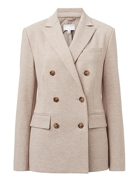Double Breasted Jersey Blazer by Witchery