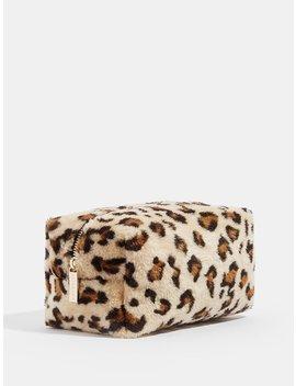 Leopard Makeup Bag by Skinny Dip