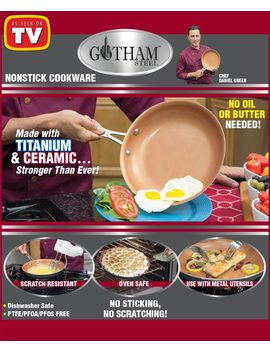 Gotham Steel™ Nonstick Pans by Lakeside Collection
