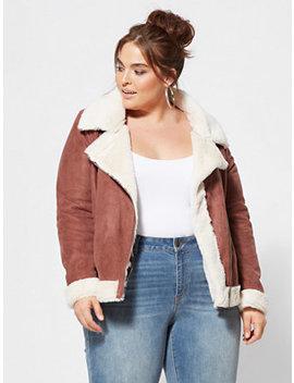 Amelie Aviator Jacket by Fashion To Figure