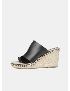 Leather Sutherland Espadrille by Vince