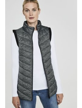 Point Zero Quilted Softshell Vest by Long Tall Sally