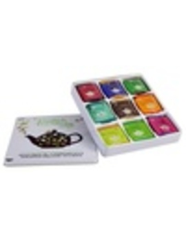 One Or Two English Tea Shop Gift Tins With Tea Bags by Groupon