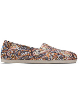 Monarch Wing Canvas Print Women's Classics Ft. Ortholite by Toms