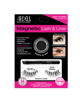 Magnetic Lash & Liner Demi Wispies Lash Kit by Sally Beauty