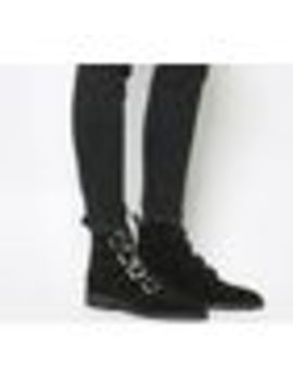 Amsterdam Multi Buckle Studded Boots by Office