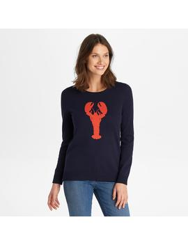 Lightweight Lobster Graphic Pullover by G.H.Bass & Co.