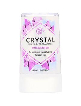 Crystal Body Deodorant, Mineral Deodorant Stick, Unscented, 1.5 Oz (40 G) by Crystal Body Deodorant