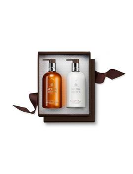 Re Charge Black Pepper Hand Wash & Lotion Set by Molton Brown