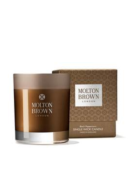 Black Peppercorn Single Wick Candle by Molton Brown