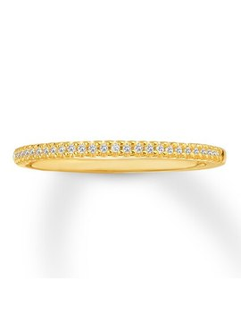 Diamond Anniversary Band 1/15 Ct Tw Round Cut 14 K Yellow Gold by Jared