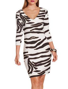Beyond Travel™ Zebra Dress by Boston Proper