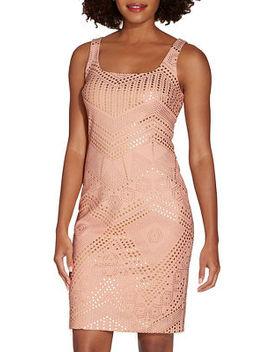 Studded Sheath Dress by Boston Proper