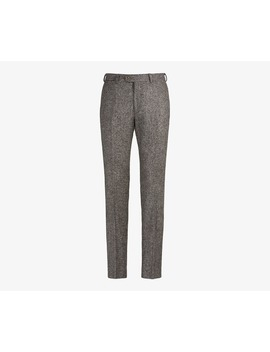 Brown Brescia Trousers by Suitsupply