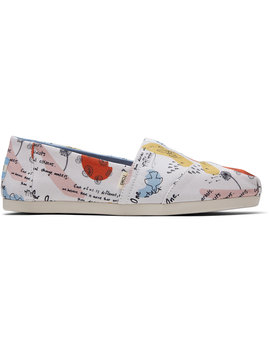 Blake Doodle Print Canvas Women's Classics Venice Collection by Toms