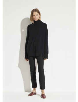 High Rise Cigarette Pant by Vince