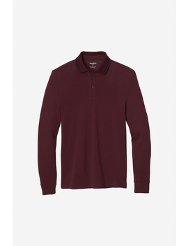 Superfine Pique Long Sleeve Polo by Bonobos