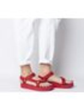Midform Universal Leather Sandals by Teva