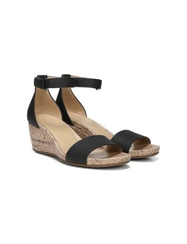 Women's Areda Medium/Wide Wedge Sandal by Naturalizer