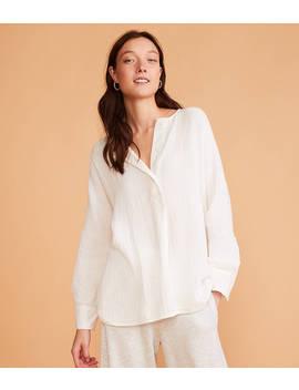 Textured Gauze Tunic Shirt by Lou & Grey
