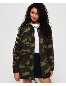 Lilith Oversized Rookie Shacket by Superdry