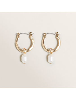 Drop Pearl Earrings by Seed Heritage