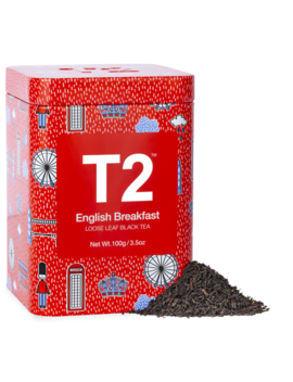 English Breakfast 100g Feature Tin by T2 Tea