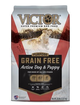 Victor Active Dog & Puppy Formula Grain Free Dry Dog Food by Victor