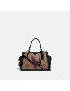 Dreamer 21 In Signature Canvas With Rexy By Sui Jianguo by Coach