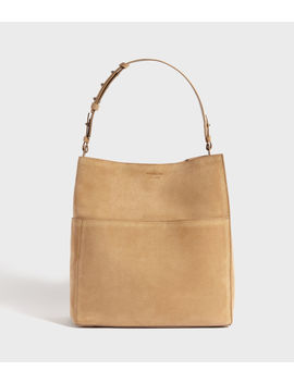 Ziggy Suede North South Tote Bag by Allsaints