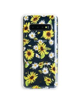 Sunflower Daisy Clear Samsung Galaxy Case by Velvet Caviar