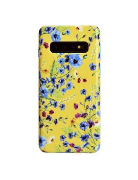 Yellow Wildflowers Samsung Galaxy Case by Velvet Caviar