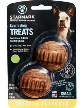 Starmark Everlasting Dental Chicken Dog Treats by Starmark