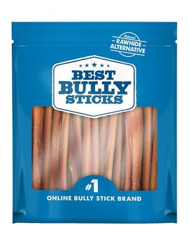 "Best Bully Sticks Odor Free 6"" Angus Bully Sticks Dog Treats, 20 Count by Best Bully Sticks"